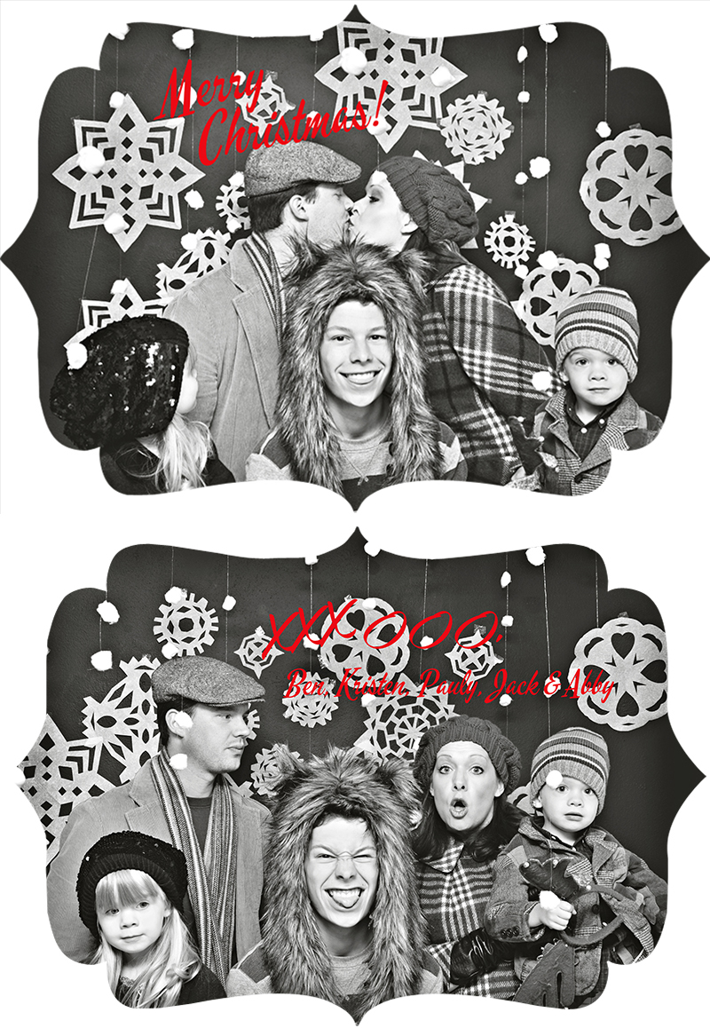 2013 Christmas Card Front and Back